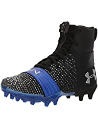 Under Armour Boys' C1N MC Jr, Black (003)/Team Royal, 1.5