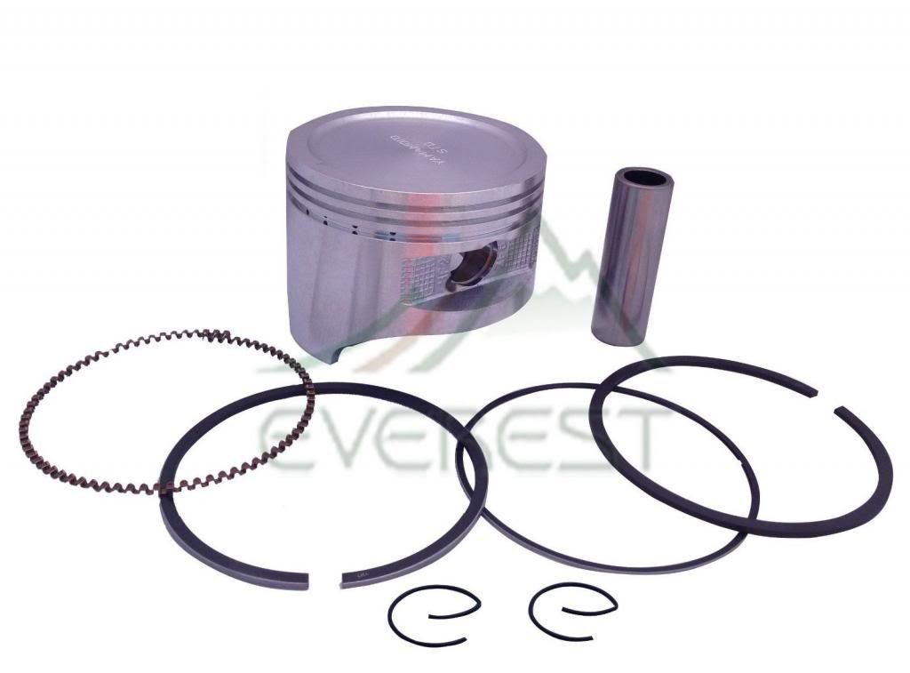 NEW HONDA STANDARD SIZE GX620 20HP PISTON KIT WITH RINGS PIN & CLIPS EVEREST PARTS SUPPLIES