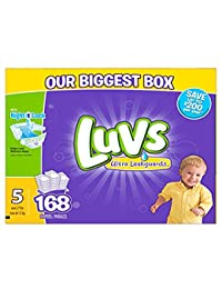 Luvs Diapers size 5, 168 ct (Old Version) BOBEBE Online Baby Store From New York to Miami and Los Angeles