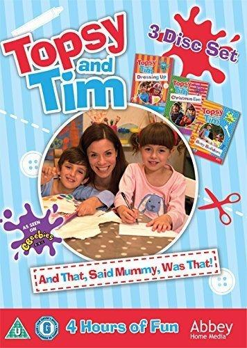 Topsy & Tim - And That, Said Mummy, Was That! Triple DVD Box Set