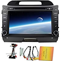 Car DVD Player Special for KIA Sportage R£¨2011-2014) 8 Inch Android 4.4 Quad Core Car Stereo Built-in GPS Navigation bluetooth support WIFI Mirror Link