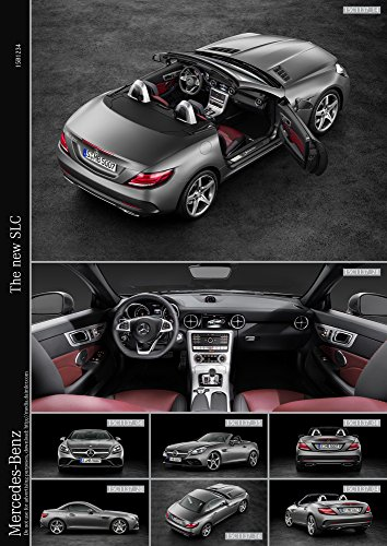 Mercedes-Benz SLC 43  Car Print on 10 Mil Archival Satin Pap
