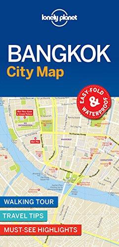 Lonely Planet Bangkok City Map (Map Bangkok)