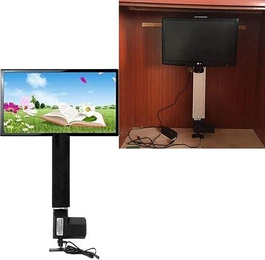 Soporte eléctrico para televisor, Elevador Ajustable, Soporte de Montaje, Elevador de Plasma/LCD de 500 mm de Longitud, Soporte para televisor de 14