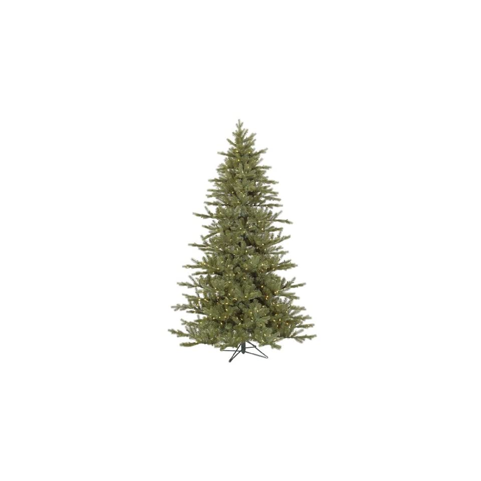 Baldwin 7 6 Green Spruce Artificial Christmas Tree with 700 LED White Lights with Stand