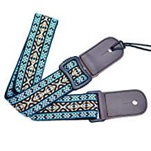 National color Adjustable Knitting Ukulele Strap