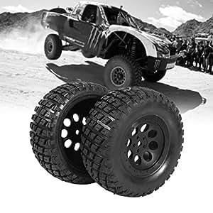 4Pcs 1:10 Neumáticos Ruedas y Llantas de Goma Llantas para 1:10 HPI Short Course Coche Off-Road Coche 110mm: Amazon.es: Juguetes y juegos