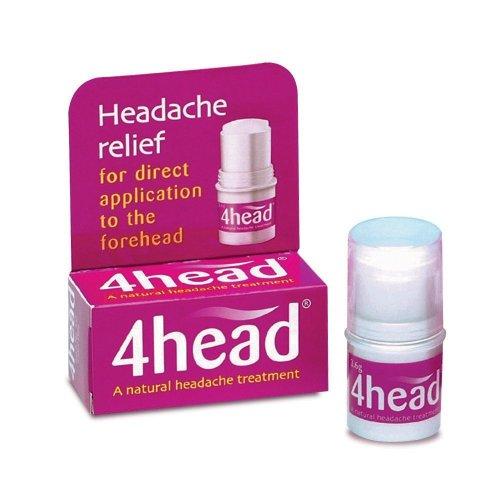 Maux de tête et migraine 4head secours bâton - 3,6 g