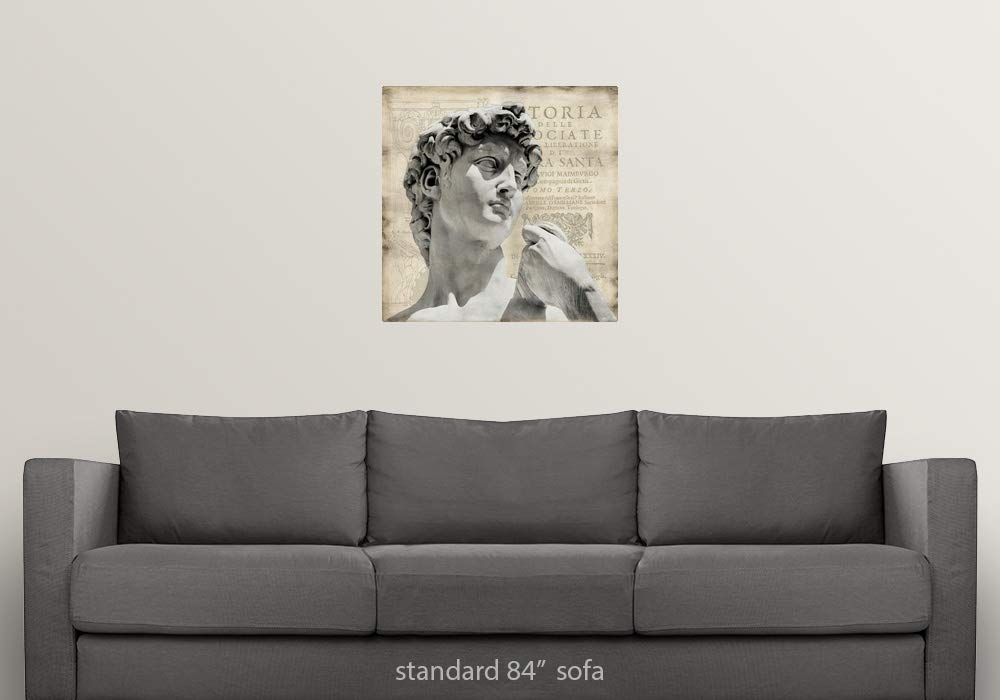 Amazon.com: CANVAS ON DEMAND Oliver Jeffries Wall Peel Wall ...
