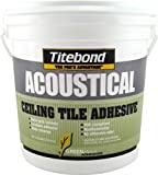 Titebond 2706 GREENchoice Acoustical Ceiling Tile Adhesive Pail, 1 gal