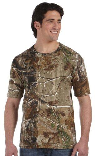 Code V Adult REALTREE® Camouflage Cotton T-Shirt - Realtree AP HD - L