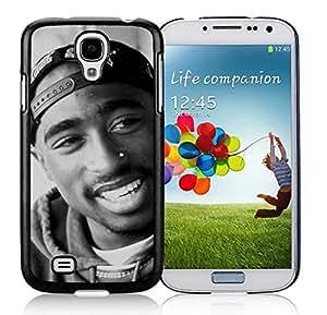 Tupac Shakur Black Samsung Galaxy S4 Cellphone Case DIY and Durable Cover
