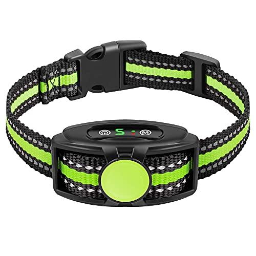 Bark Collar for Small Dogs 5-15lbs Small Dog No Bark Collar with Beep, Vibrate, Humane No Shock Anti Bark Collar for…