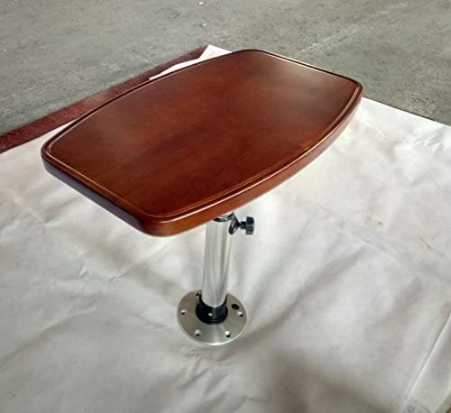 Strong Marine Boat Varnished Wood Table (Oak) Picture