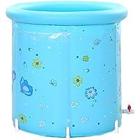 Baignoire gonflable pliable de grande taille de bain de baignoire gonflable de baignoire de plastique de 80x80cm XL pour l'adulte