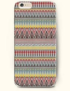 SevenArc Apple iPhone 6 Case 4.7' - Aztec Indian Chevron Zigzag Pattern ( Retro Aztec Tribal Pattern ) by supermalls