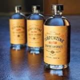 100% Natural Pure Gum Spirits of Turpentine in 8 Oz Bottle Glass