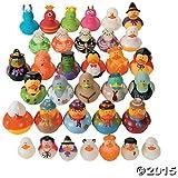 Halloween Rubber Ducky Assortment - 50 pcs