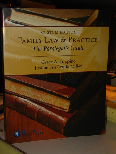 Family Law and Practice The Paralegals Guide ebook