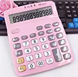 Jingzou Large cute calculator live pronunciation desktop office business accounting for special