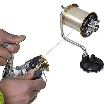 ZMAYASTAR誰でも簡単綺麗釣り糸ライン巻き取り器ワンタッチ吸盤ロック機能付き負荷調節可能ZM-DY-01の画像