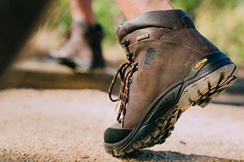 Guggen Mountain Mens Scarpe Da Trekking Impermeabili Scarpe Outdoor Scarpe Da Passeggio Hpm50 Marrone