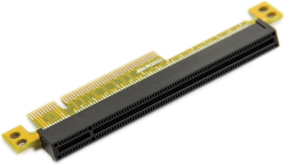Estone PCI Express Riser Card x8 to x16 Left Slot Adapter For 1U Servers