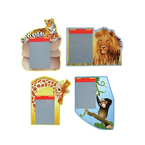 Safari Animal Magic Pad (With Sticky Notes) by Bargain World