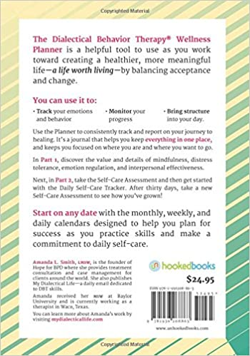 The Dialectical Behavior Therapy Wellness Planner: 365 Days of ...