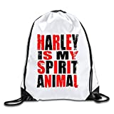 HAAUT Harley Quinn Port Bag Drawstring Backpack
