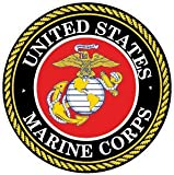 marine corps auto decal - NI925 2-Pack Marine Corps Decal Sticker | 4-Inch Premium Quality Decal Sticker | USMC Decal | US Marines