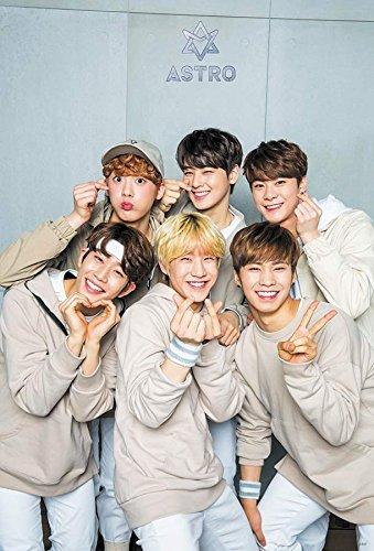 ASTRO (아스트로) South Korea Kpop Boy Band Music Poster Size 24x35 Inch J-0087