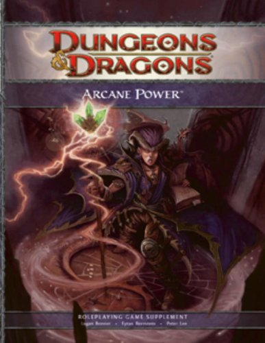 Arcane Power A 4th Edition D&d Supplement [Bonner, Lo] (Tapa Dura)
