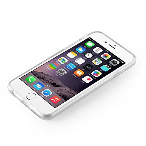iPhone 7 Caso por licaso® para el patrón de Apple iPhone 7 Gato Negro Gatito Dulce TPU de silicona ultra-delgada proteger su iPhone 7 es elegante y cubierta regalo de coches Schloss Aquarell