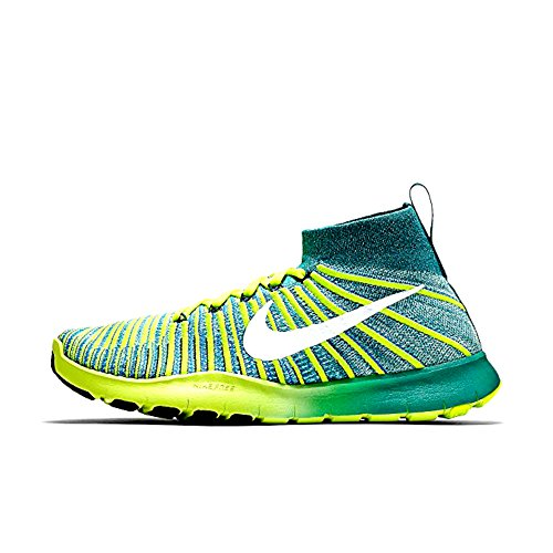 Nike Hommes Free Tr Force Flyknit Chaussures De Course (9 D (m) Us, Rio Teal)