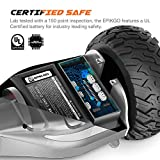 EPIKGO Premier Series Electrical Self Balance Board / Balancing Scooter With All-Weather Tire Hover Through Tough Road Condition [Space Grey, Premier Series, Model: EL-ES03R]
