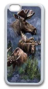 Case For Samsung Galsxy S3 I9300 Cover Case, Case For Samsung Galsxy S3 I9300 Cover -Moose Collage PC Custom Case For Samsung Galsxy S3 I9300 Cover Whtie