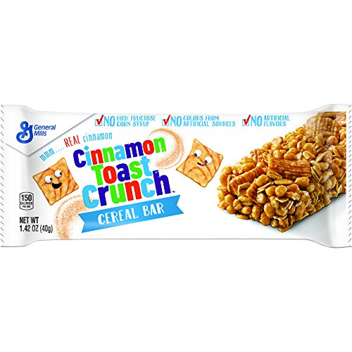 Snack Toast - Cinnamon Toast Crunch Cereal Bar, 96 Count