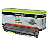 GREENCYCLE New Compatible HP 201A CF403A Toner Cartridge for HP Color Laserjet Pro M252dw M252n MFP M277dw M277n Printer, 1 Pack (Magenta)