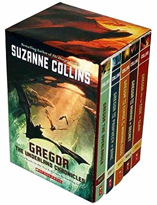 book cover of Gregor the Overlander Box Set