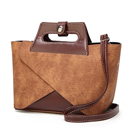 Borsa Sabarry donna mano Marrone a 6qqwdY
