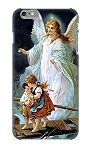Ideal Goldenautumn Case Cover For Iphone 6 Plus(Guardian Angel And Children Crossing Bridge), Protective Stylish Case Kimberly Kurzendoerfer