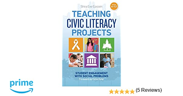 Teaching Civic Literacy Projects: Student Engagement with Social ...