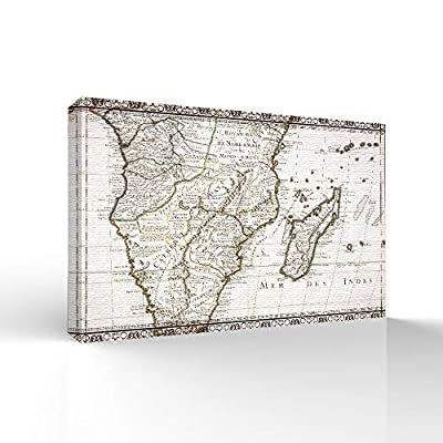 Alluring Composition, With a Professional Touch, World Maps Pictures Home Wall for Bedroom Living Room Paintings Framed