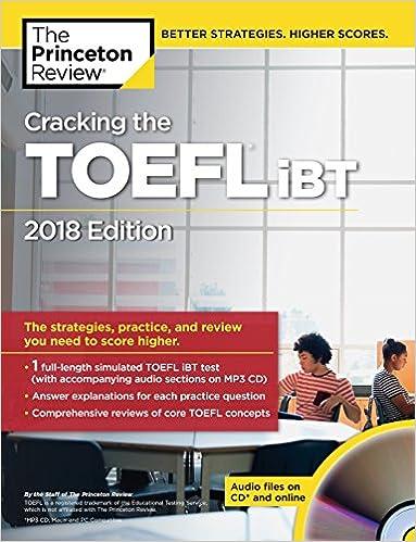 Toefl Book With Audio