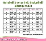 Wall Letters x Soccer Ball Custom Letter Children's