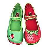Hot Chocolate Design Chocolaticas Strawberry Women's Mary Jane Flat Multicoloured HCD 39