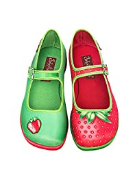 Hot Chocolate Design Chocolaticas Strawberry Women's Mary Jane Flat