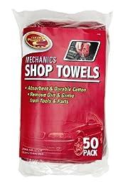 Detailer\'s Choice 3-558 Mechanics Shop Towels - 50-Pack