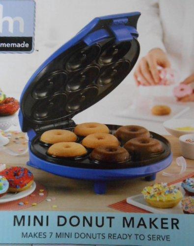 bella sensio mini donut maker blue home garden kitchen dining kitchen appliances toasters. Black Bedroom Furniture Sets. Home Design Ideas